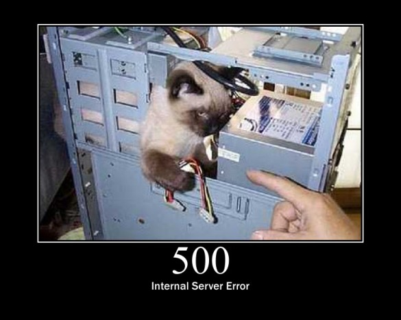 500 Internal Server Error!